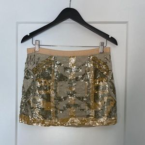 Guess Sequins Skirt